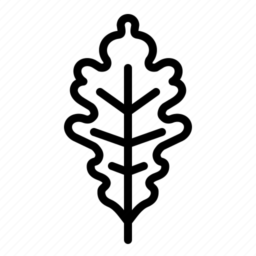 autumn, fall, garden, leaf, nature, oak, season icon