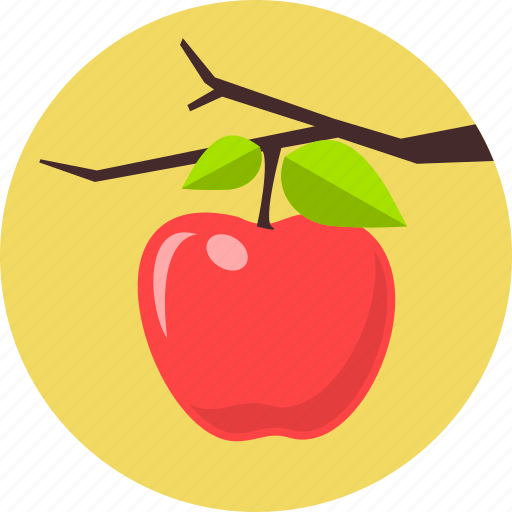 apple fruit, autumn, fruits, healthcare, healthy, red apple, vegetable icon
