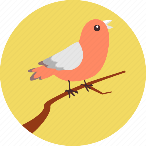 autumn, bird, bird on branch, environment, fly, nature, tweet icon