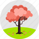 autumn, ecology, environment, leaves, nature, plant, red tree icon