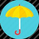 umbrella, clouds, protect, rain, storm, weather, autumn