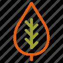 autumn, fall, leaf, plant icon