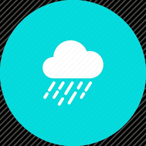 autumn, cloud, overcast, rain, rainfall, rainy, weather icon