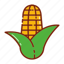 autumn, corn, fruit, vegetable icon