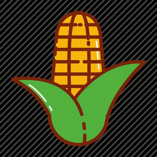 autumn, corn, fruit, vegetable icon