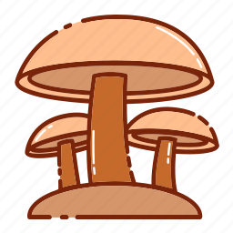 autumn, mashroom, vegetable icon