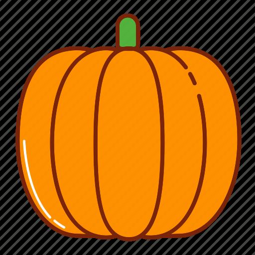 autumn, fall, fruit, halloween, nature, pumpkin icon