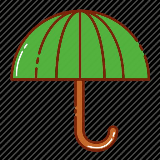 autumn, object, rain, umbrella icon