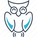 autumn, owl, bird