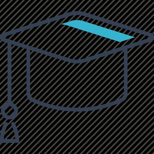 academic, autumn, cap, education, square, student icon