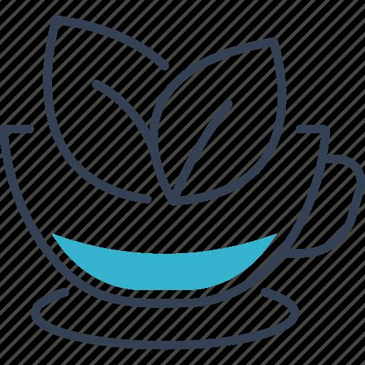 autumn, drink, tea icon