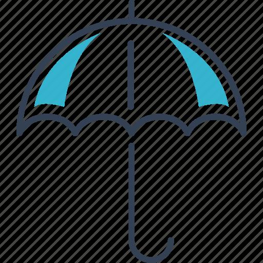 autumn, rain, umbrella icon