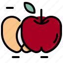 apple, food, fruit, healthy, organic, vegetarian icon