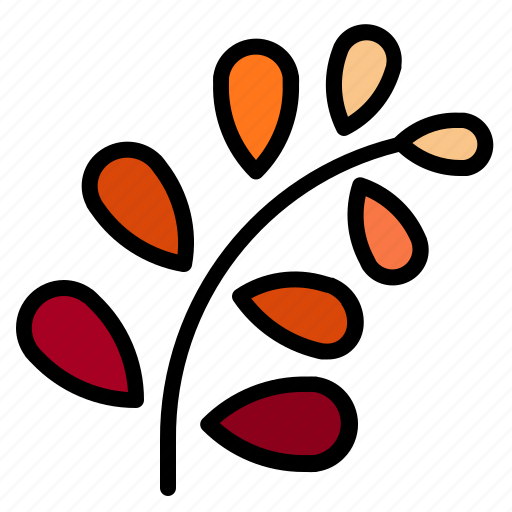 autumn, leaf, leaves, nature, plant, weather icon