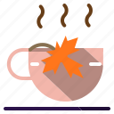 coffee, cup, drink, food, hot, shop, tea icon