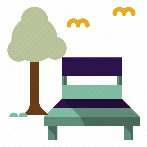 chair, chairs, deck, seat, summertime icon