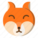 animal, fox, wild, wildlife icon