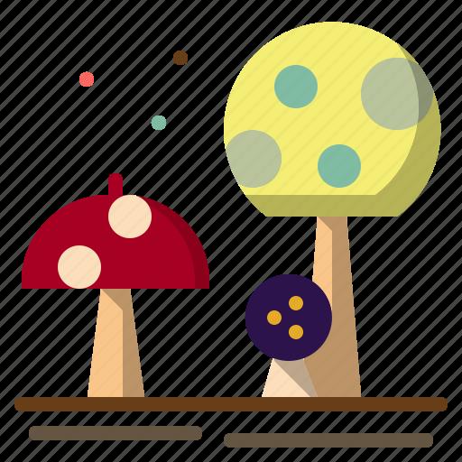 food, fungi, muscaria, mushroom, nature icon