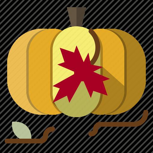 autumn, food, fruit, healthy, organic, pumpkin, vegetarian icon