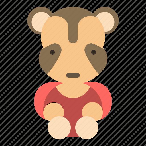 animal, raccoon, wild, wildlife icon