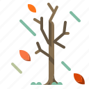 autumn, branches, spooky, tree, winter icon