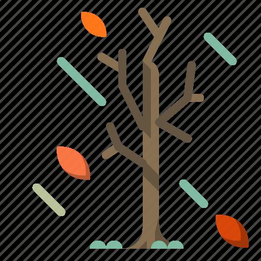 autumn, branches, spooky, tree, winter icon