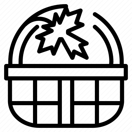 and, basket, commerce, container, purchase, shopping icon