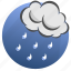 autumn, cloud, clouds, cloudy, rain, storm, weather icon