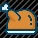 chiken, food, meal, meat, thanksgiving, turkey