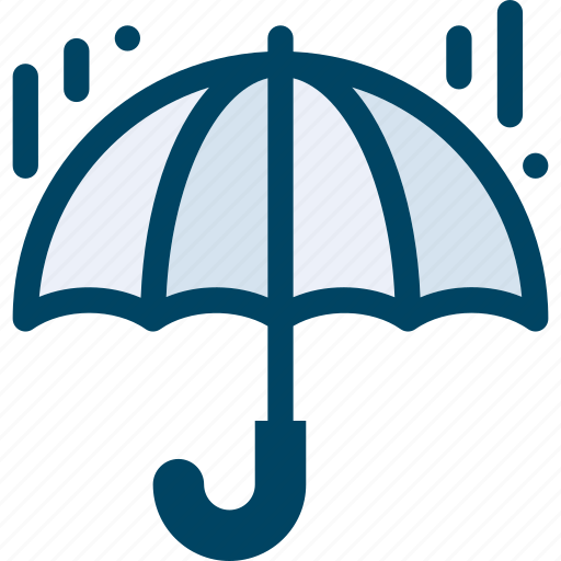 autumn, protection, rain, umbrella icon
