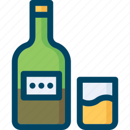 alcohol, beverage, drink, whisky icon