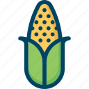 corn, farm, food, thanksgiving, vegetable icon