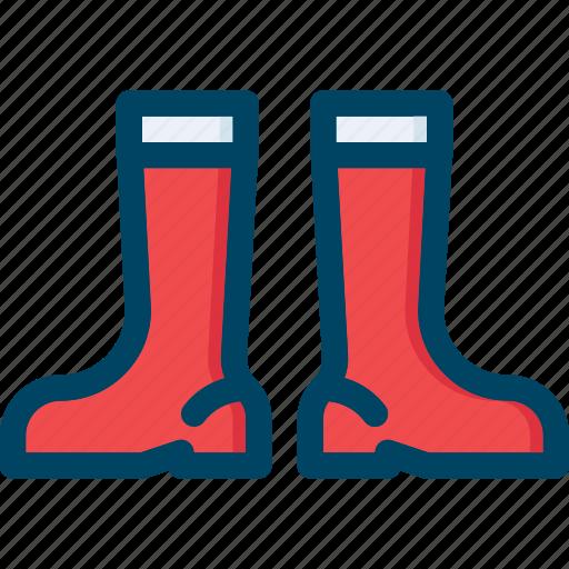 autumn, boot, footwear, garden, rubber, shoe icon
