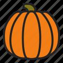 autumn, food, harvest, jackolantern, pumpkin, squash, vegetable icon