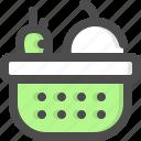 basket, fruit, groceries, grocery, supplies, vegetables