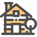 buildings, cabin, cottage, house, shelter, wood