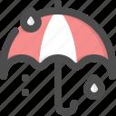 drops, protect, protection, rain, rainy, umbrella, weather