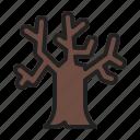 autumn, fall, plant, tree icon