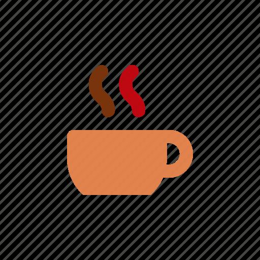 autumn, coffee, winter icon