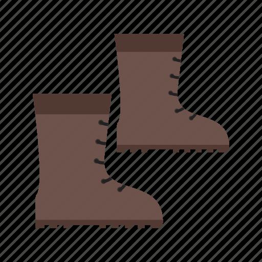 autumn, boots, fall, fashion, puddle, rain, walking icon