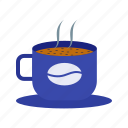 autumn, coffee, cold, cup, hot, mug, weather icon