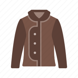 clothes, clothing, jacket, outdoor, warm, weather, zip icon
