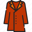 overcoat, clother, clothing, jacket, winter