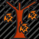 tree, autumn, botanical, fall, garden, leaf, season