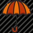 umbrella, protection, rain, rainy, security, weather