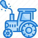 tractor, agriculture, arming, gardening, vehicle