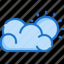 weather, cloud, sun, sunny, cloudy