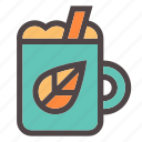 autumn, beverage, cinnamon, drink, fall, hot, wine icon