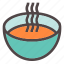 autumn, comfort, cook, fall, hot, meal, soup icon
