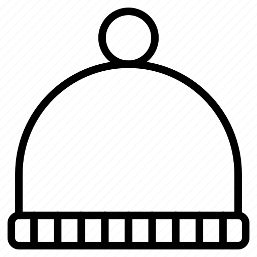 cap, hat, warm, winter, wool, woolen icon